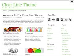 Clear Line Theme WordPress