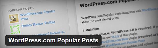 Most popular post wordpress plugin
