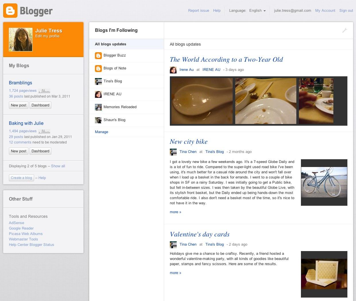 programma's voor websites blogs blogger